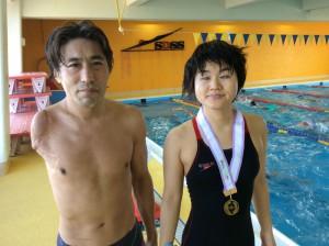 わかやま国体で大会新記録で見事優勝した池田さんと石浦さん