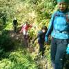 快晴の空の下三浦アルプスへハイキング