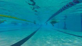 今朝のレッツスイム新代田。水の中はやっぱり気持ちがいいね!