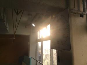 天気予報では雪だったと思ったんですが快晴。気持ちのいい朝日でしたね。