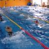 キック&四泳法を交えて、スタート時のシミュレーショントレーニング