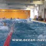 1コースの泳ぎを観察しよう!