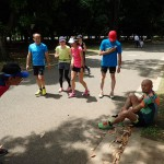 初夏の1000×20本インターバル走 代々木公園 開催