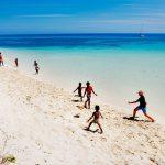 秋は南太平洋最後の楽園でのんびりとオーシャンスイム