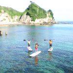 勝浦鵜原海岸「のんびりオーシャンスイム&ゆるゆるSUP」で海散策【10/28~29開催】