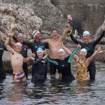 佐渡海峡リレー横断泳のレポート