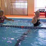 プールでクロストレーニング!?
