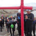 2019年の海の安全を祈願して、初詣スイムに行ってきました!