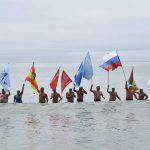 ロシアサハリン州クリリオン岬〜北海道宗谷岬国際横断泳①