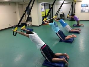 TRXトレーニング